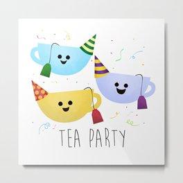 Tea Party Metal Print
