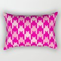 Pink Catstooth Pattern by lisann