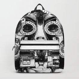 asc 712 - Le masque de la Méduse (Object woman) Backpack