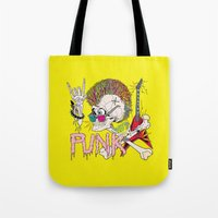 punk Tote Bags featuring Punk by dogooder
