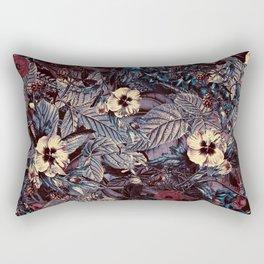 dark flowers #flower #flowers Rectangular Pillow