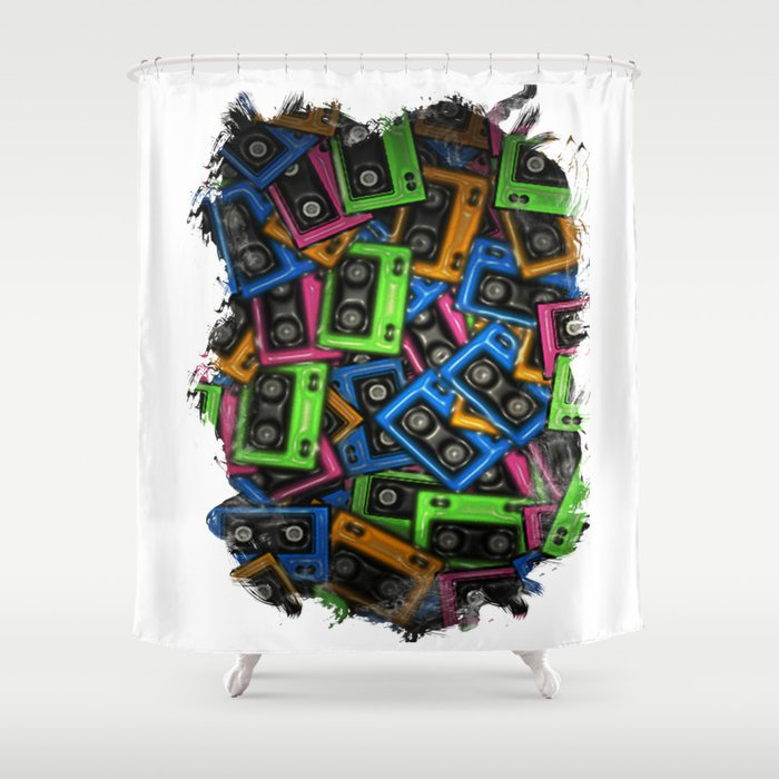 Cassete Shower Curtain