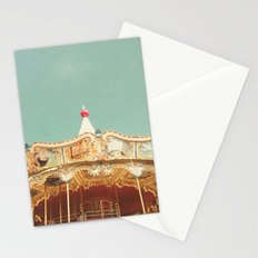 Carousel Lights Stationery Cards