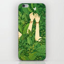I wanna love u now iPhone Skin