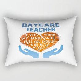 Daycare Teacher Rectangular Pillow