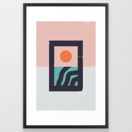 Sunsubiro Framed Art Print