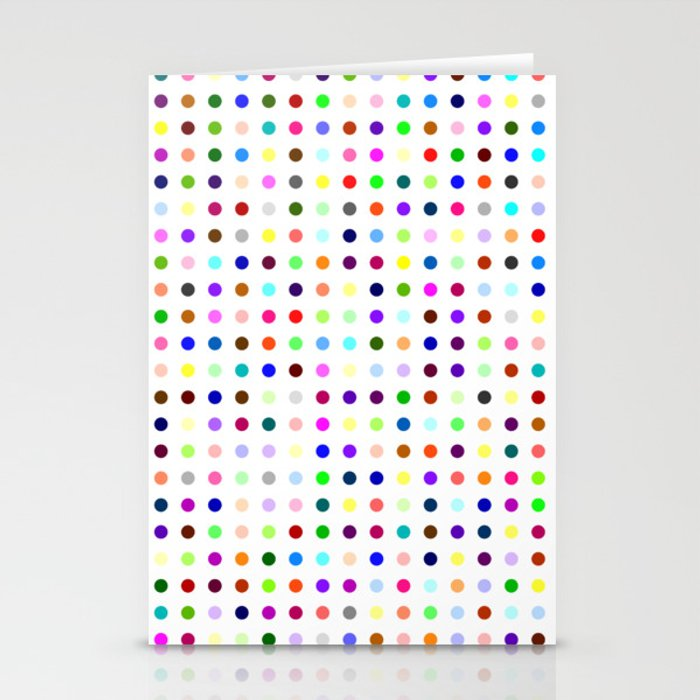 Big Hirst Polka Dot Stationery Cards