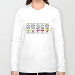 White Claw illustration Long Sleeve T-shirt