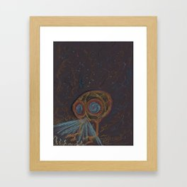 SteamPunk Submersible Framed Art Print