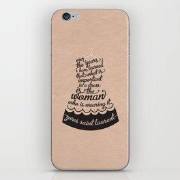 Little Black Dress iPhone Skin