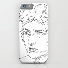 Bob Dylan WordsPortrait  iPhone 6s Slim Case