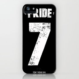 7 Deadly sins - Pride iPhone Case