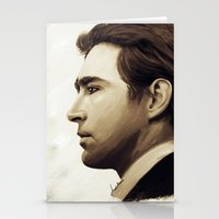 lee pace Stationery Cards featuring Lee Pace by LindaMarieAnson