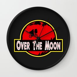 Over The Moon Wall Clock