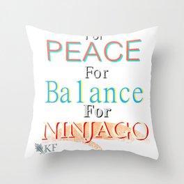 For NinjaGo Throw Pillow