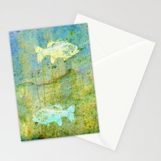 one fish, two fish Stationery Cards