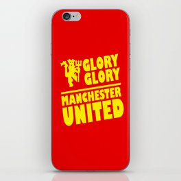 Slogan Reds iPhone Skin