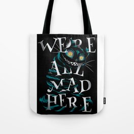 Mad cat Tote Bag