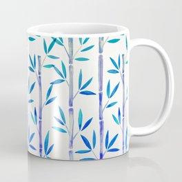 Bamboo Stems – Indigo Palette Coffee Mug