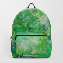 Peacefull Green Backpack