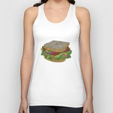 Sanduchito Unisex Tank Top
