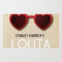 lolita Area & Throw Rugs featuring Lolita by Linda Hordijk