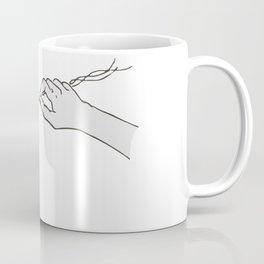 Hands Twining Coffee Mug