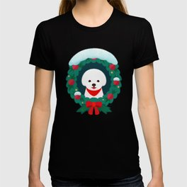 Christmas Bichon T-shirt