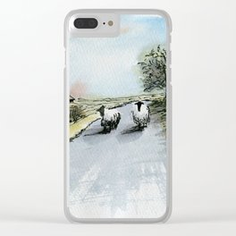None Shall Pass Clear iPhone Case