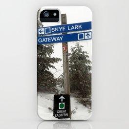 Skye Lark iPhone Case