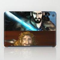 thorin iPad Cases featuring Thorin & Fili by wolfanita