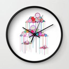 Rain Game Wall Clock