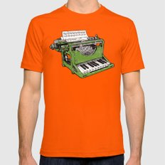 The Composition - G. Orange Mens Fitted Tee MEDIUM