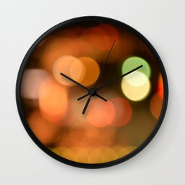 Downtown Lights Wall Clock