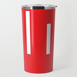 The White Stripes Travel Mug