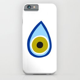 Greek eye | good luck | superstition iPhone Case