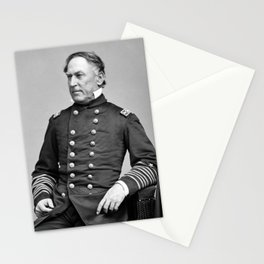 Admiral Farragut - Civil War Portrait Stationery Cards