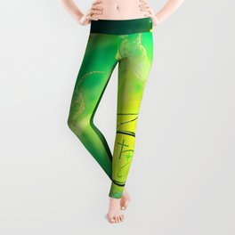 Zodiac sign Capricorn - Happy Birthday Leggings
