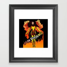 Dark Phoenix Framed Art Print