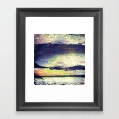 Rainbow Rocks Framed Art Print