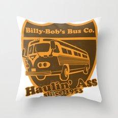 Haulin' A Throw Pillow