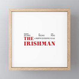 The Irishman Framed Mini Art Print