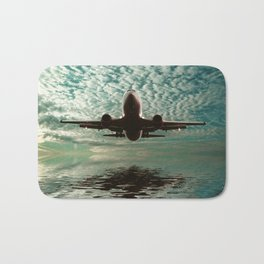 Flight path  Bath Mat