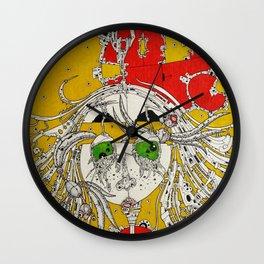 onomatopeia Wall Clock