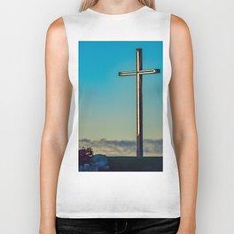 The Cross on the Hill Biker Tank