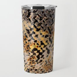 Robert Rohm Steel Art Detail Travel Mug