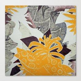 Urban Tropical Canvas Print