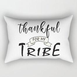 Thankful for My Tribe T-Shirt Rectangular Pillow
