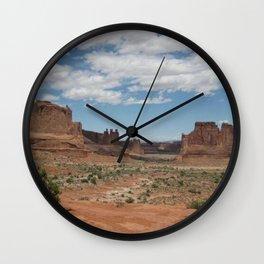 Desert_utah_spring Wall Clock
