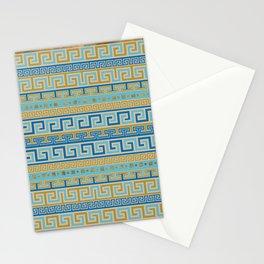 Meander Pattern - Greek Key Ornament #3 Stationery Cards